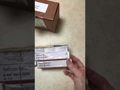 Ordering Generic Retin-A from reliable pharmacy RX from India. my experience