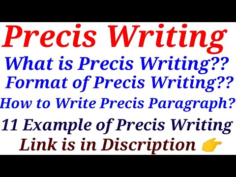 What is Precis Writing|Tips & Tricks|Special Education