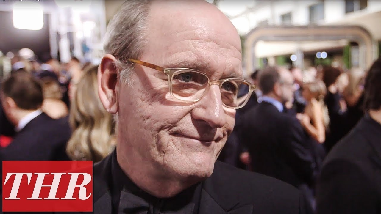 Richard Jenkins on The All Black Anti-Harassment Red Carpet Attire at Golden Globes 2018 | THR