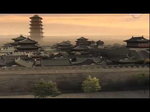 Исчезнувшие памятники древнего Китая Величественная буддийская пагода