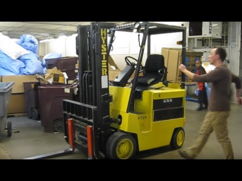 Forklift Safety Training Video (The funny one) - YouTube