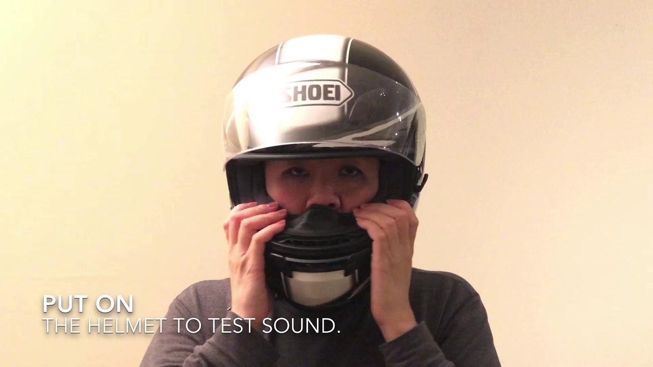 IASUS XSound 2.1 Helmet Speakers Automotive