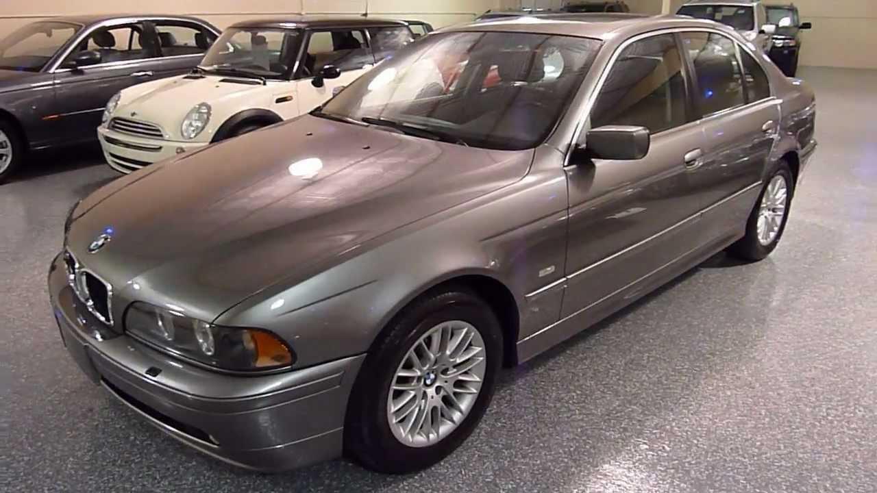 2003 BMW 530i 4dr Sedan Automatic SOLD 2212  YouTube