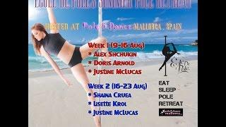 Ecole de Pole MALLORCA Pole Dance & Yoga Retreat 2015 (promo video)