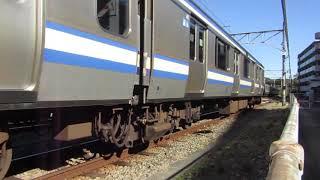 E217系 クラY141編成 入区