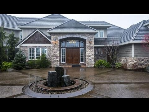 High end homes include high tech security systems youtube for High end house builders