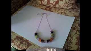 Diy Super Easy & Cute Necklace 5-2-14