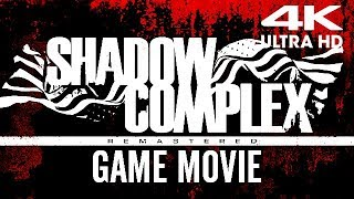 SHADOW COMPLEX REMASTERED All Cutscenes (Xbox One X Enhanced) Game Movie 4K 60FPS Ultra HD