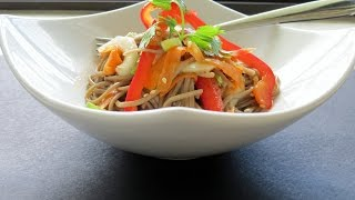 Soba Noodle Recipe (vegan) -- The Frugal Chef