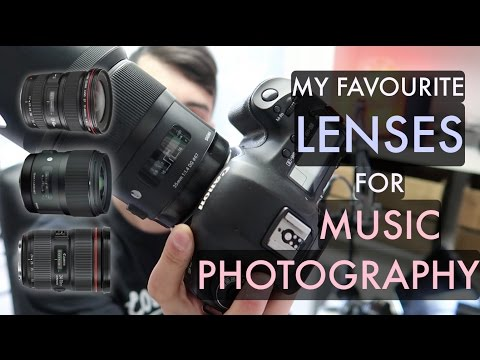 Best Lenses for Music Photography (In my opinion) CANON SHOOTER