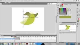 Tutorial Adobe Flash Professional | Membuat animasi burung