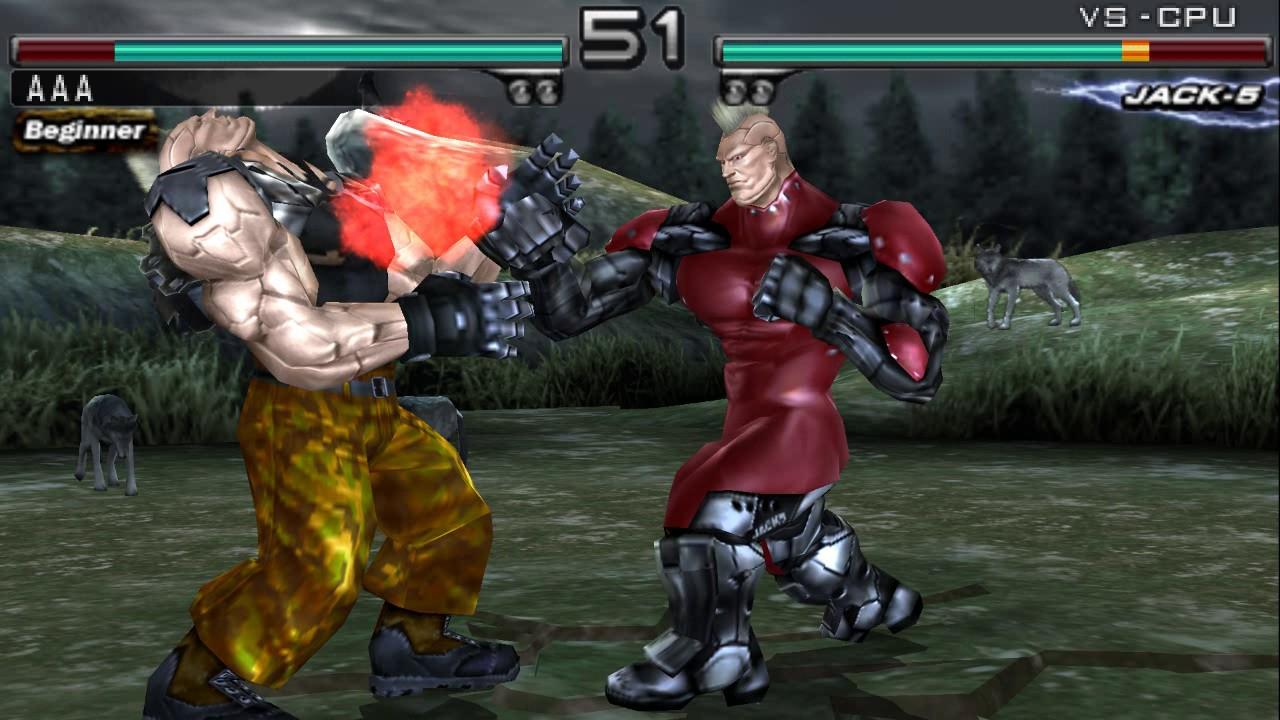 Psp On Pc Tekken Dark Resurrection Gameplay Ppsspp Intel