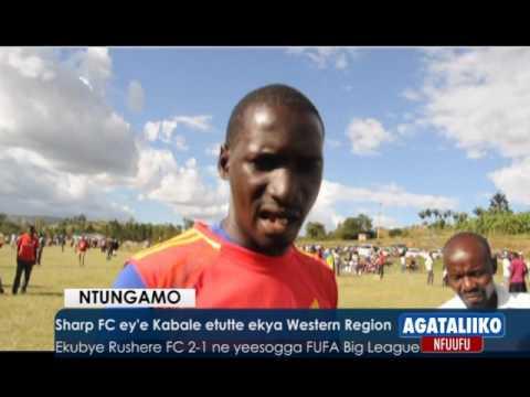 SPORTS: Sharp FC ey'e Kabale etutte ekya Western Region