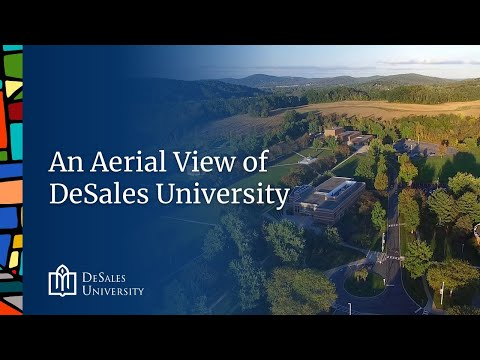 An Aerial View of DeSales University