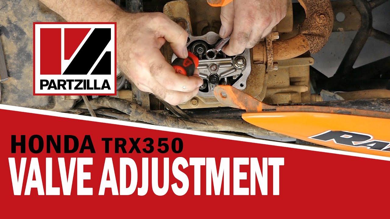 Honda Rancher 350 Valve Adjustment Partzilla Youtube. Honda Rancher 350 Valve Adjustment Partzilla. Honda. 2002 Honda Rancher 350 Valve Parts Diagram At Scoala.co