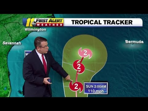 Hurricane Maria latest track 5 a.m. 9/22/17