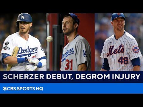 Former MLB GM on Max Scherzer Dodgers Debut & Jacob deGrom Injury Timeline  CBS Sports HQ