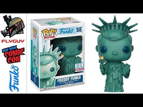 Funko POP SE Statue Of Liberty FREDDY FUNKO Vinyl Action Figure Kids Toy Gift