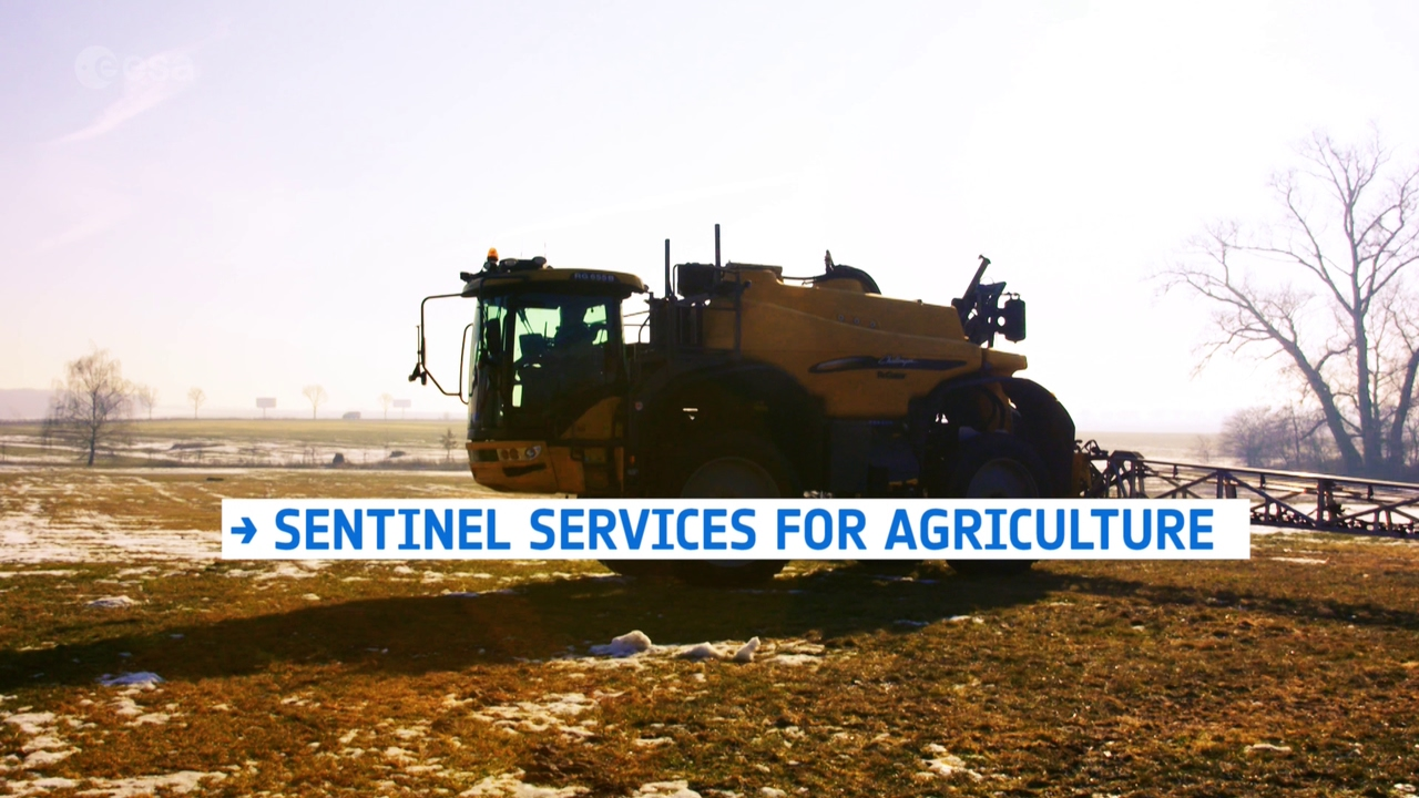 sentinel services for agriculture youtube