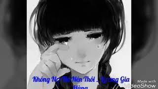 Không Nợ thì thôi _Lương Gia Hùng