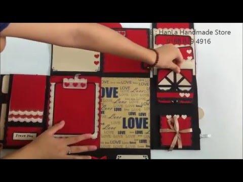 how to make handmade scrapbook