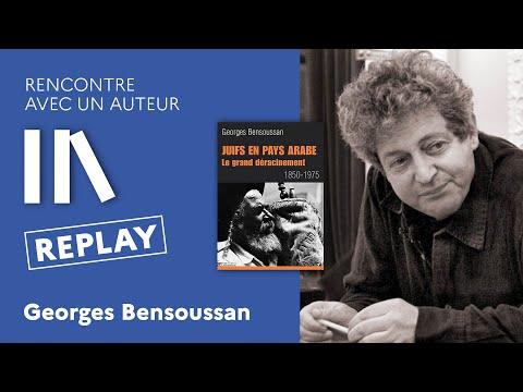 Rencontre avec un auteur: Georges Bensoussan à l'Institut français de Tel Aviv