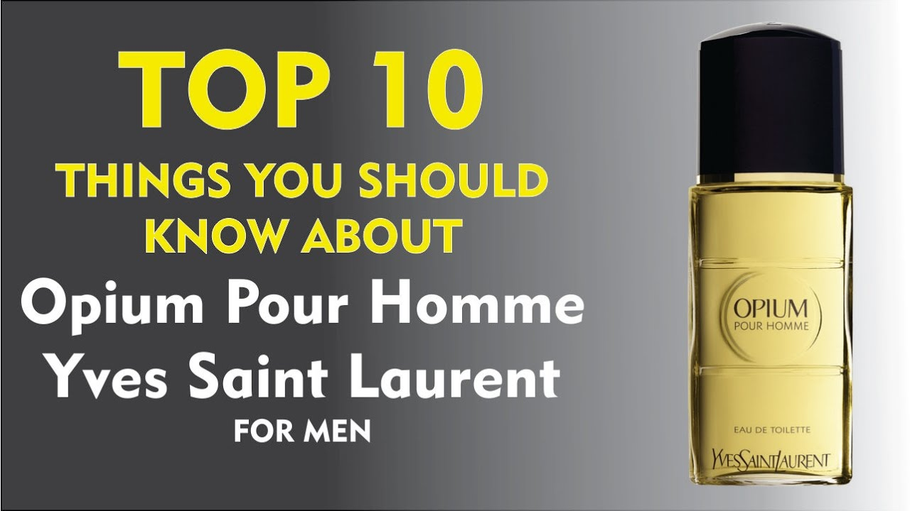 For 10 Pour Things AboutOpium Top Saint Homme Laurent Yves Men PnwkO80X