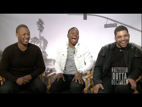 Straight Outta Compton Interviews - Cube, F. Gary Gray, Hawkins, Mitchell, O'Shea Jackson Jr.