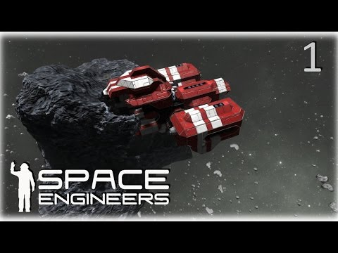 Space Engineers Co-op Survival - 01 - Crashed but not alone