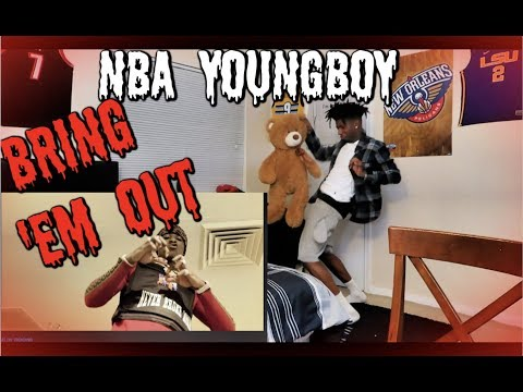 NBA YOUNGBOY – BRING 'EM OUT REACTION!!! WHY HE TURNT UP LIKE THAT🔥😭