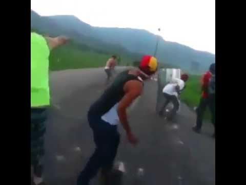 UN MUERTO EN PROTESTAS EN VENEZUELA  DEl  2017 VENEZUELA