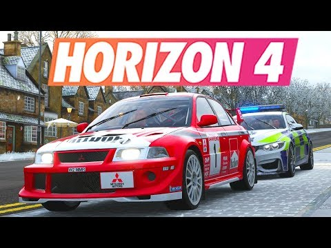 Forza Horizon 4 - POLICE VS VOLEURS #5 (RP) thumbnail