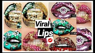 New Amazing Lip Art Ideas  Lipstick Tutorial Compilation#VIRALLIPS 2019