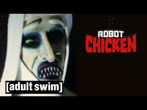 Robot Chicken | 🎃 Nun Farts | Adult Swim UK 🇬🇧