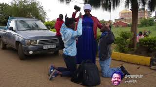 Thug steals pastor's bible and bags. NAIROBI DIARIES LATEST