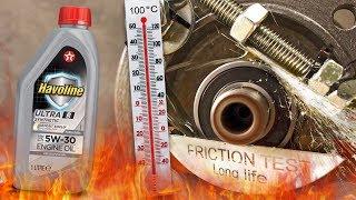 Texaco Havoline Ultra R 5W30 Jak skutecznie olej chroni silnik? 100°C