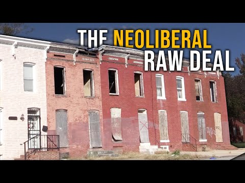 The Neoliberal 'New' Deal: The Rich Drink For Free While The Poor Pay More