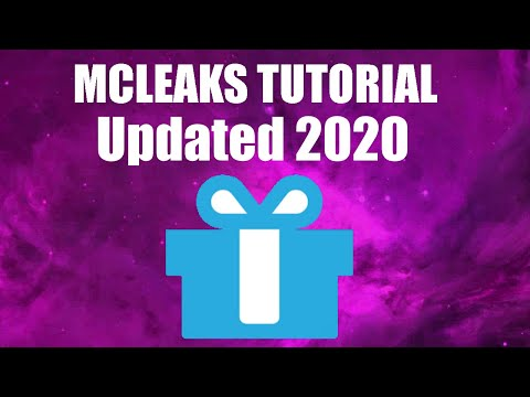 How to use MCLeaks [Updated August 2019] - YouTube