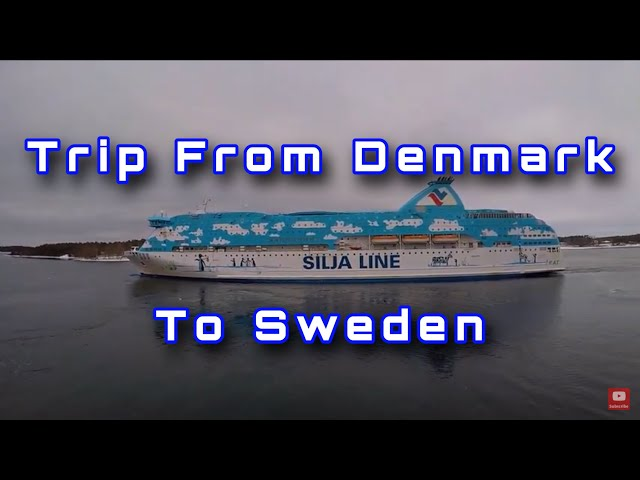 POV Driving Volvo FH500 In Scandinavia Part 3 (Denmark and Sweden)