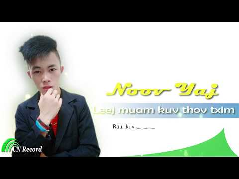 Leej muam kuv thov txim - Noov Yaj (Official audio) thumbnail