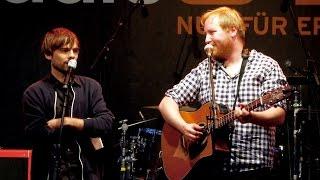 Julius Fischer & Sebastian Lehmann live beim radioeins Parkfest 2016