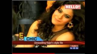 Kajol - Hello Cover Shooting November 2013