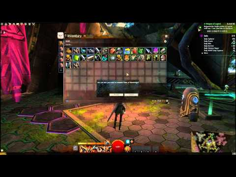 Guild Wars 2 - level 1 - 80 rewards with new leveling system 9/9/2014