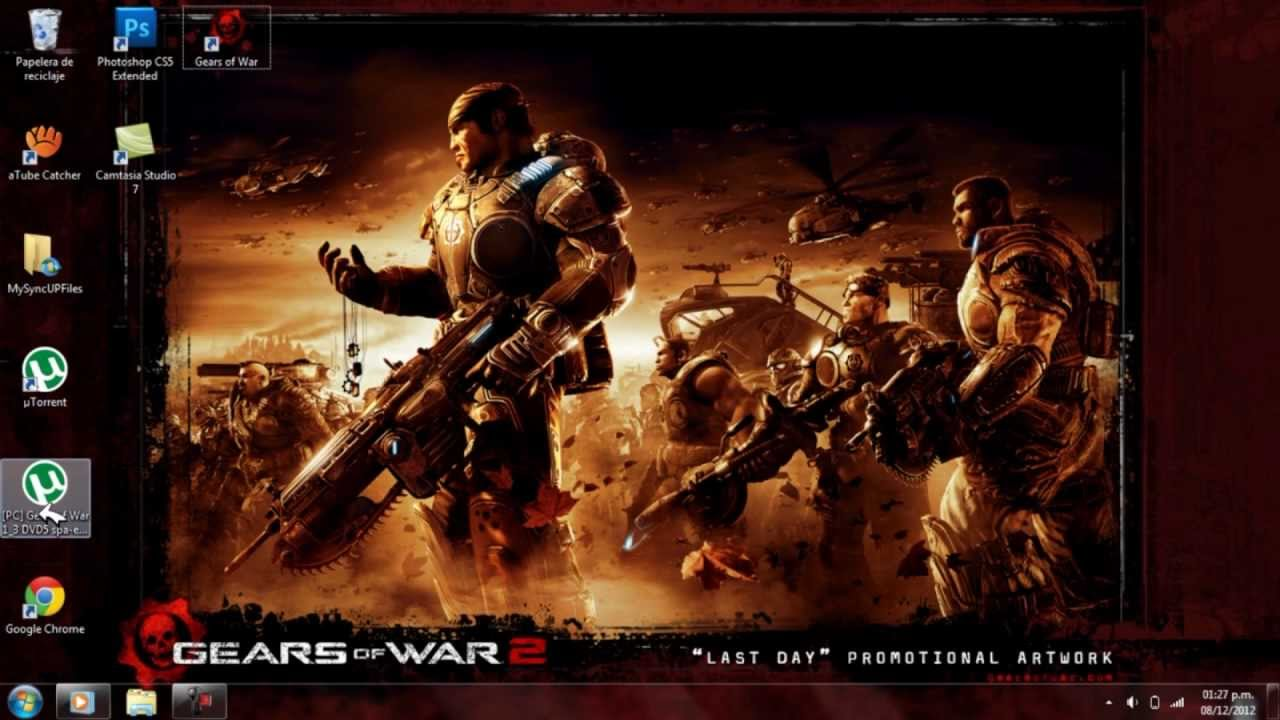gears of war 2 pc تحميل