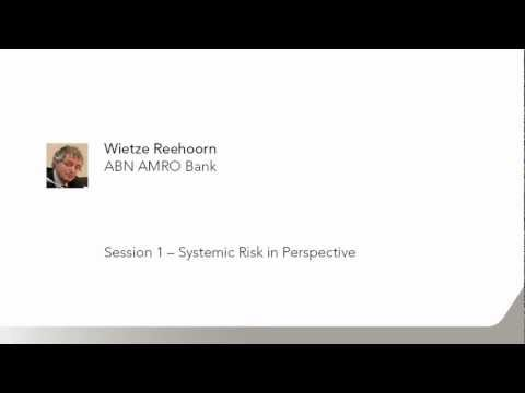 Systemic Risk Symposium (Session 1) - part 2/3