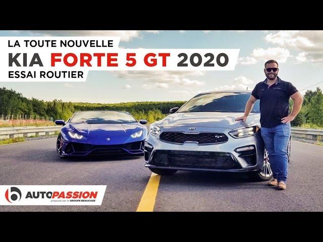 Kia Forte 5 GT 2020 - Rapide Et Pratique! - Essai AutoPassion