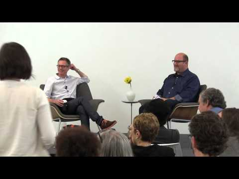 Contemporary Talks: David Platzker Q&A
