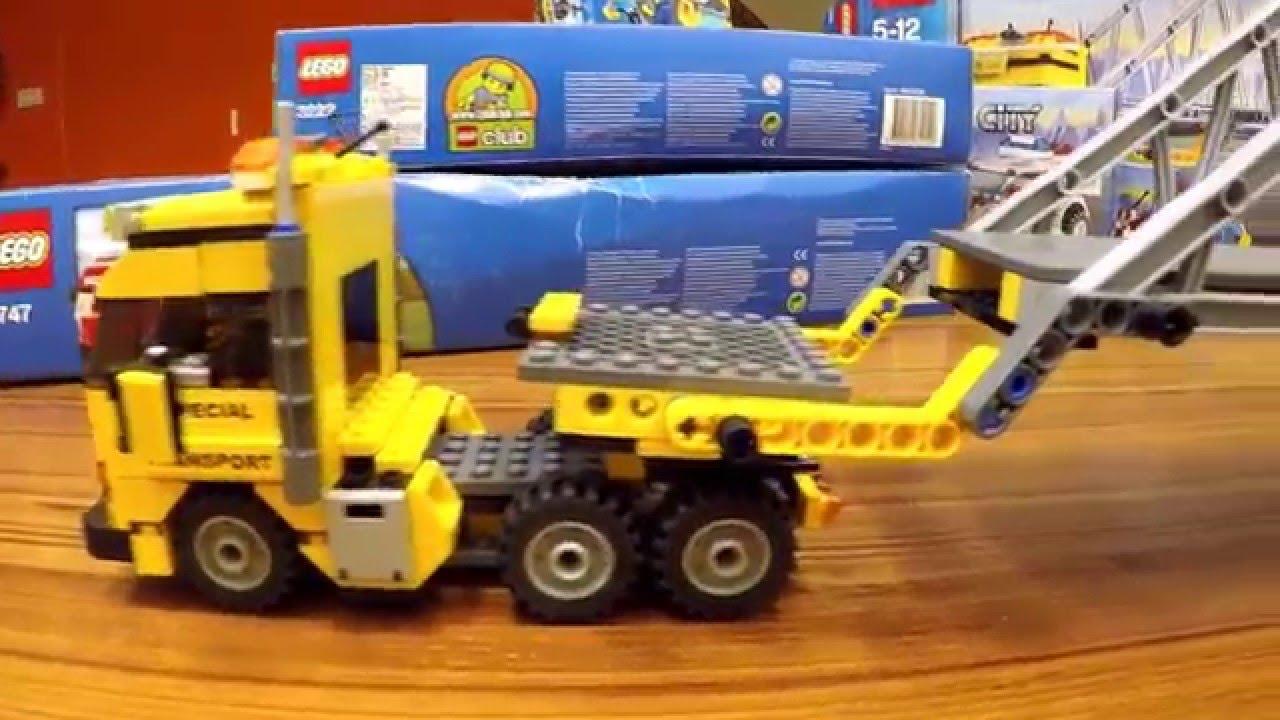 Lego City Construction Truck Oversize And Super Long Bridge
