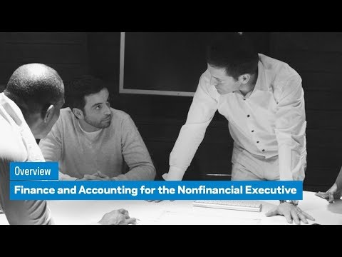Finance and Accounting for the Nonfinancial Executives
