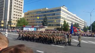 День Независимости Украины.Запорожье..Парад..24.08.2017